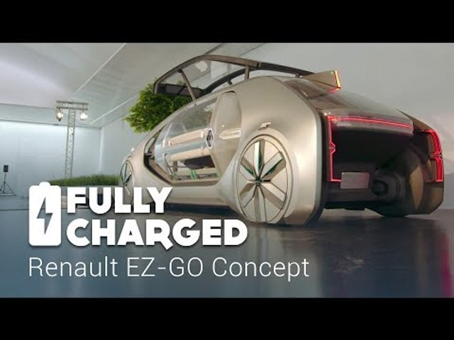 Renault EZ-GO Concept | Fully Charged