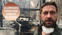 Casas de celebridades queimam nos incêndios da Califórnia