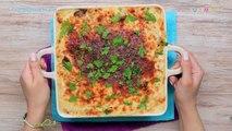 5 وصفات بالمكرونة (طاجن مكرونة بالسجق-كانيلوني-بشاميل- مكرونة بالسجق والجبن-مكرونة بالجمبري)