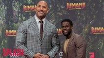 Dwayne Johnson will kill off Kevin Hart in Jumanji sequel