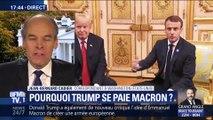 Popularité, chômage, vins... Donald Trump s'en prend à Emmanuel Macron sur Twitter (1/2)