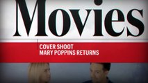 Lin-Manuel Miranda Shows Emily Blunt His Mary Poppins Hat Toss | Cover Shoot | Entertainment Weekly