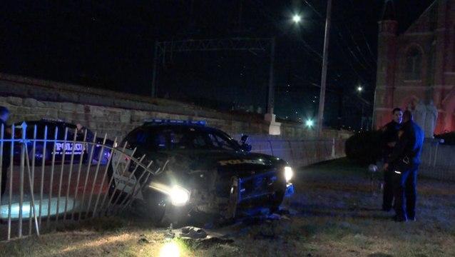 Live PD: Crashed Cop Car
