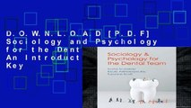 D O W N L O A D [P D F] Sociology and Psychology for the