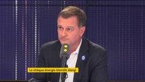 """""""Pas d'écharpe, rien, j'irai avec des amis à Perpignan pour faire des grillades avec des amis sur un rond-point à 6h du matin (...) je ne suis pas favorable à ce que l'on bloque les gens"""" déclare Louis Aliot, député RN des Pyrénées-Orientales"""
