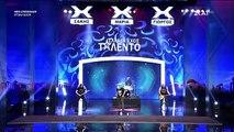 Άγριο ξύλο στο «Ελλάδα Έχεις Ταλέντο» #talentogr #talento  - Πιάστηκαν στα χέρια πάνω στη σκηνή