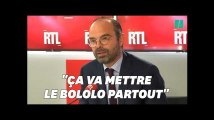 """Edouard Philippe ne veut pas de """"Bololo"""" le 17 novembre, l'expression n'est pas passée inaperçue"""