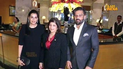 Suniel Shetty, Shweta Bachchan & Zoya Akhtar @Celebration of 25 years of Thai Pavilion Spotted