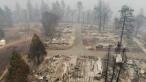 En Californie, la ville de Paradise été totalement détruite par les flammes