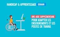 Emploi et Handicap   développer l'apprentissage