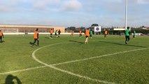 Les joueurs du SCO d'Angers se sont entraînés à Sablé-sur-Sarthe