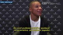 Kylian Mbappé décrit son joueur parfait