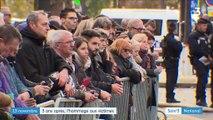 Attentats du 13-Novembre : les victimes du terrorisme médaillées