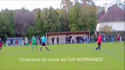 US Normande 76 - AJC A : 1-2 (le 11/11/18)