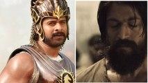 KGF Kannada Movie : ಯಶ್ ಕೆಜಿಎಫ್ ಪ್ರಭಾಸ್ ಬಾಹುಬಲಿ ರೀತಿ ಮಿಂಚುತ್ತಾ  | FILMIBEAT KANNADA
