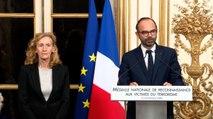 Attentats 13 novembre 2015 :  Édouard Philippe remet la médaille nationale de reconnaissance aux victimes du terrorisme