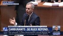 Carburants: François de Rugy estime que le chèque énergie peut toucher six millions de Français