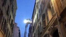 Marseille : un immeuble évacué dans le centre-ville, rue Châteauredon