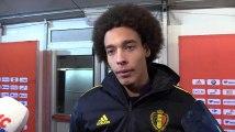 """Axel Witsel : """"Soirée spéciale avec les supporters qui scandent mon nom tout le match"""""""