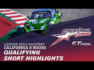 SHORT HIGHLI|GHTS - QUALIFYING - CALIFORNIA 8 HOURS - IGTC 2018