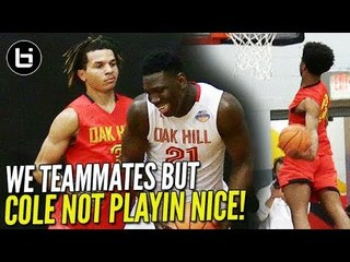 TOO SCARED TO LOSE?! Cole Anthony & Oak Hill PUT ON DUNK-FEST when TEAM DOESN'T SHOW UP!!!