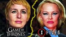 Scully dans Game of Thrones ? Pamela Anderson dans X-Files ? Plan B Allociné