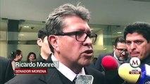 Monreal habla sobre iniciativa de comisiones bancarias