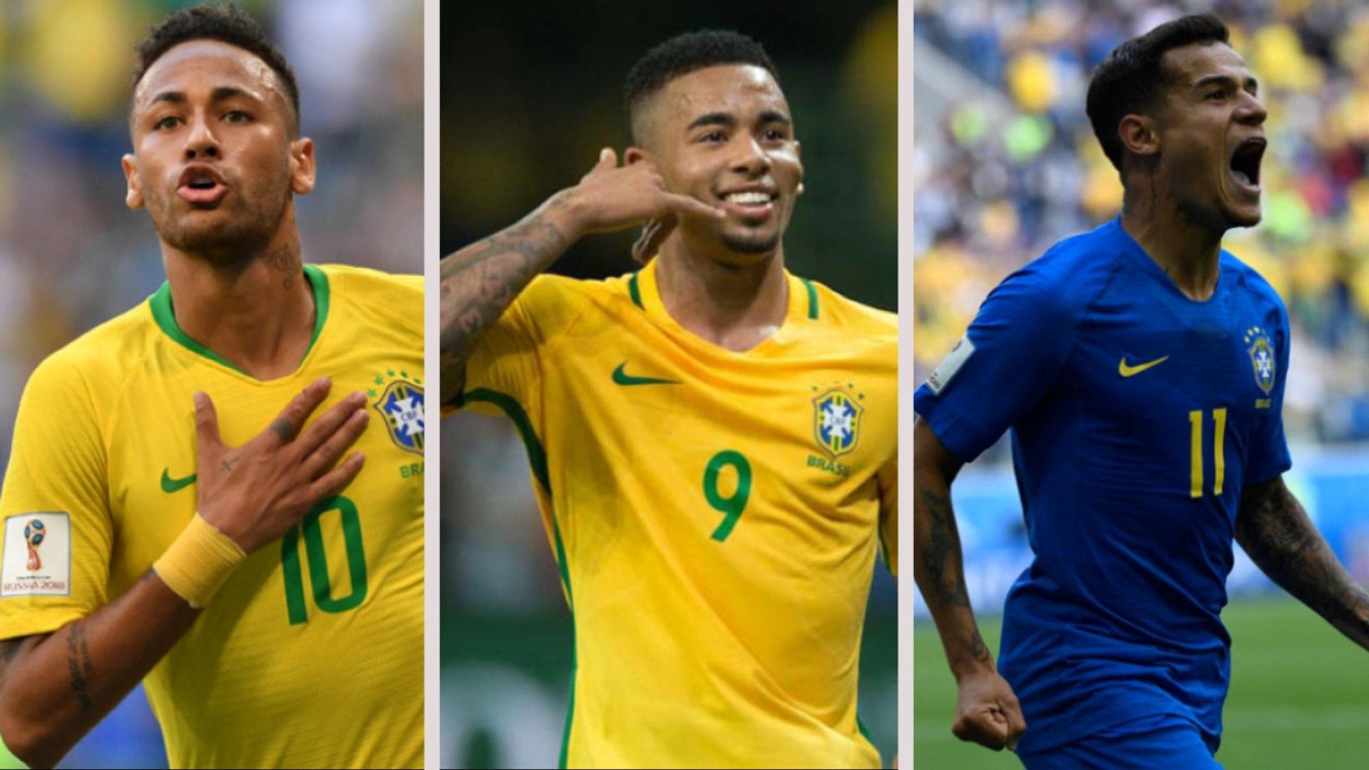 Os goleadores da Seleção Brasileira na Era Tite