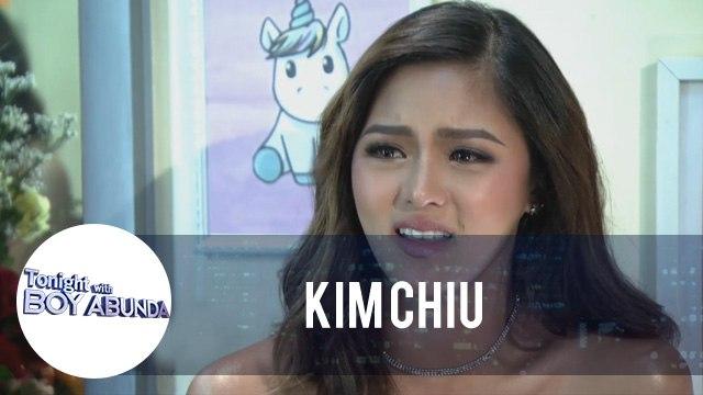 TWBA: Kim Chiu turns emotional while talking about her mom