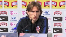 Croatia train and talk ahead of Spain clash in UEFA Nations League