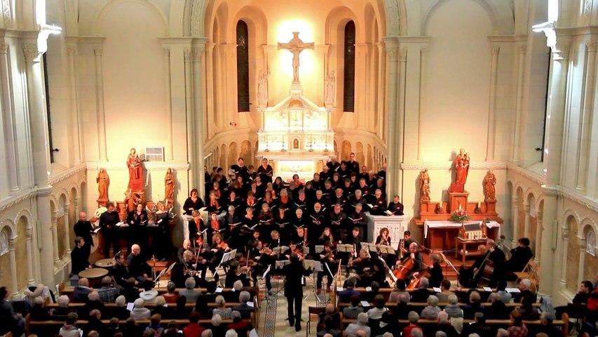 Extraits du concert franco-allemand (Requiem de Mozart)   Église de l'Emm (Metzeral-Sondernach), 11 novembre 2018