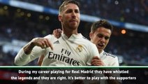 I can deal with Bernabeu whistles - Sergio Ramos