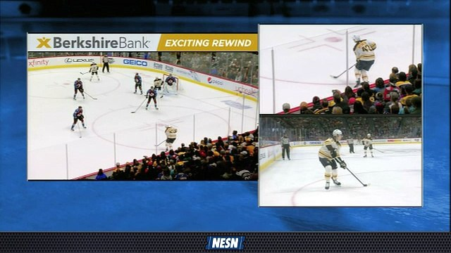 Bruins' Patience Pays Off On David Pastrnak Power-Play Goal Vs. Avs