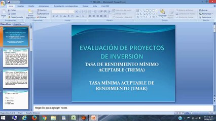 Presentación 7. TREMA