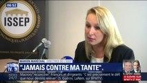 """Marion Maréchal-Le Pen """"ne rentrera jamais dans le jeu d'un conflit avec Marine Le Pen"""""""