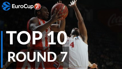 7DAYS EuroCup Regular Season Round 7 Top 10 Plays