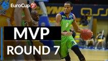 7DAYS EuroCup Regular Season Round 7 co-MVPs: Sammy Mejia, Tofas Bursa and Landing Sane, Mornar Bar