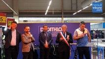 VILLENEUVE LES BEZIERS - Inauguration sportive du nouveau DECATHLON