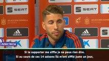 Ramos : La critique? Je dois vivre avec