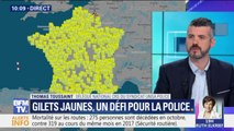 """Gilets jaunes: pour Unsa-Police, """"il semble compliqué d'être derrière chaque point de blocage"""""""