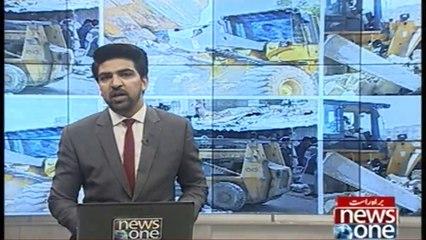 Karachi: Hussainabad Main Dukanain Khali Karwanay Ka Silsila Shoru