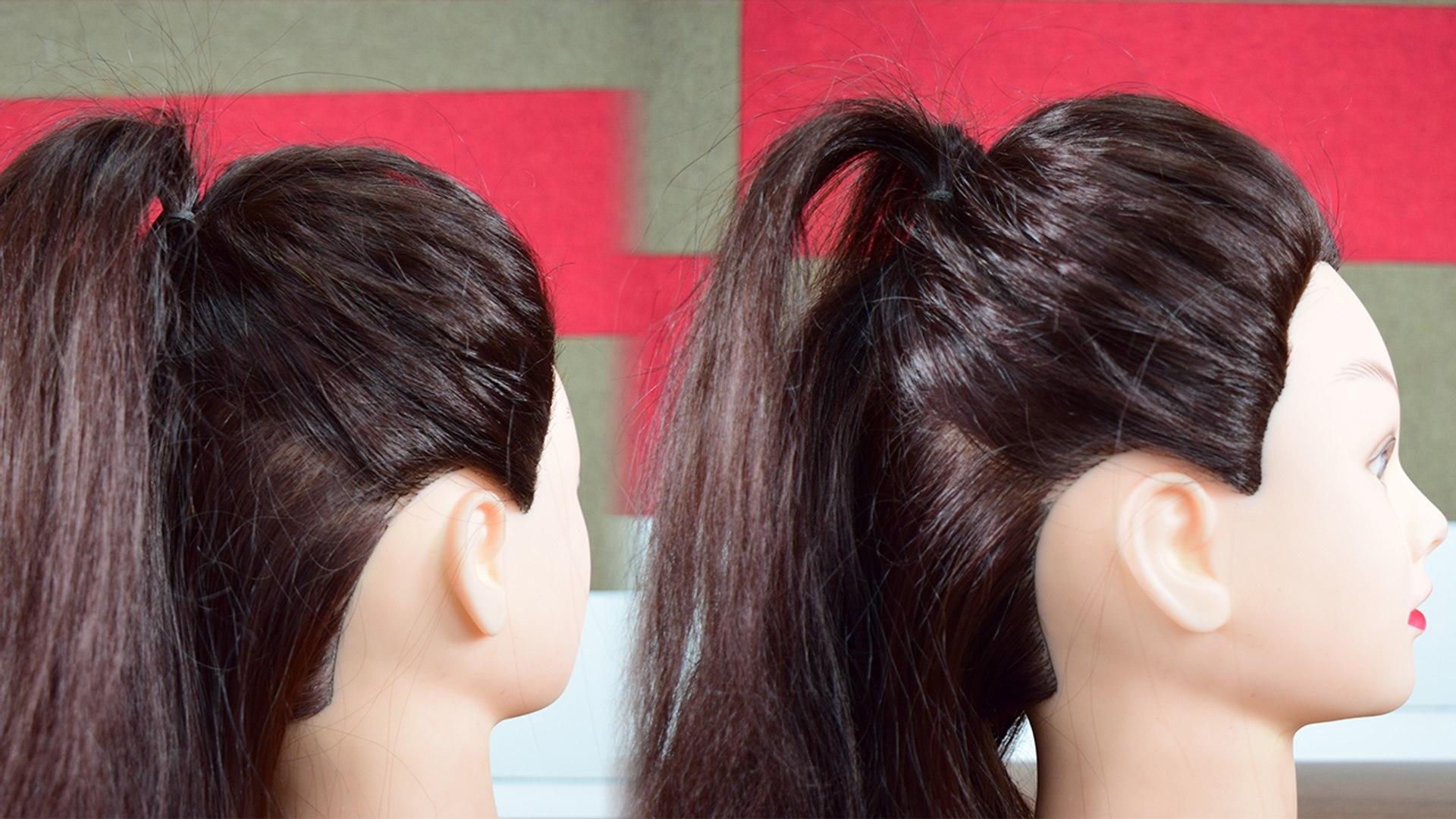 Khule Balo Ke Liye Easy Hairstyle - Best Hairstyles