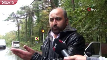 Bahçeköy'de yağışın etkisiyle feci kaza