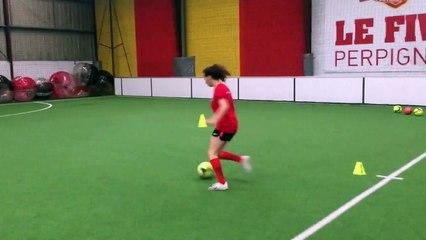 YONA OUAZENE - U18 - ASPTG ÉLITE FOOTBALL - FIVE PERPIGNAN - 15.11.2018 - V3