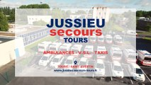 Jussieu Secours Tours, ambulances, taxis et V.S.L à Saint-Avertin près de Tours.