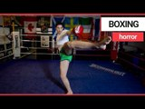 A teenage prodigy has been crowned world champion in kickboxing   SWNS TV