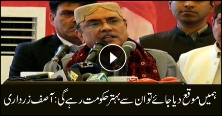 Real representatives can only run Pakistan: Zardari