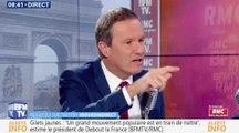 """Nicolas Dupont-Aignan : """"Macron nous prend pour des cons"""" - ZAPPING ACTU DU 15/11/2018"""