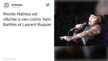 Mireille Mathieu ira chez le «courtois» Hanouna et tacle Yann Barthès.