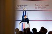 """Discours sur la transformation du système de santé """"Prendre soin de chacun"""" du Président de la République, Emmanuel Macron"""